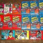 """LOT OF WACKY PACKAGES OLD SCHOOL & BASEBALL GROSSOUTS & AWESOME ALL-STAR """"PACKS"""""""