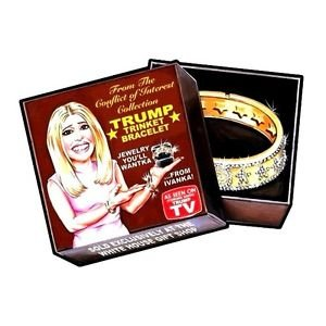 """2016 WACKY PACKAGES/GPK'S disg-RACE """"JEWELRY FROM IVANKA"""" #82 LIMITED EDITION"""