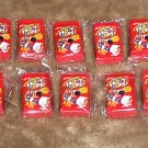 "WACKY PACKAGES SERIES 2 LOT OF TEN ""FROOT COPS!"" BONUS ERASERS- COOL"