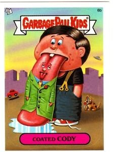 """2004 GARBAGE PAIL KIDS ALL NEW SERIES 3 {ANS3} """"COATED CODY"""" #6b NM"""