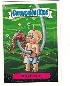"2004 GARBAGE PAIL KIDS ALL NEW SERIES 2 {ANS2} ""KATE BAIT"" #10b STICKER CARD"