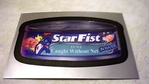 """WACKY PACKAGES CHROME SERIES 1 """"STAR FIST"""" #8 CUTTING ROOM FLOOR INSERT CARD"""