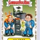 """2016 GARBAGE PAIL KIDS PRIME SLIME TRASHY """"xxx-GILES"""" 26/50 GOLD BORDER"""