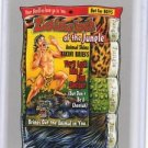 "2017 WACKY PACKAGES 50th ANNIVERSARY SILVER STICKER ""LOINCLOTH OF JUNGLE"" 35/50"