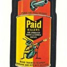 "1986 WACKY PACKAGES ALBUM SERIES STICKER ""PAID KILLERS"" #56 ONLY 99 CENTS"