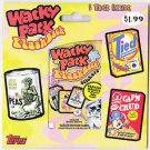 2008 WACKY PACKAGES PACKAGE OF ONE FLASHBACK SERIES 1 SEALED PACK. RARE