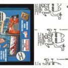 """2017 Wacky Packages 50th Anniversary BLACK LUDLOW """"ASH CHAINSAW"""" 52/99"""