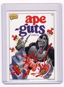 """2012 CEREAL KILLERS 1ST SERIES """"APE-GUTS"""" #39 STICKER-ONLY 99 CENTS"""