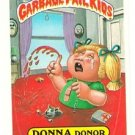 "1987 GARBAGE PAIL KIDS ORIGINAL 8TH SERIES ""DONNA DONOR"" #298b STICKER CARD"