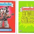 2013 GARBAGE PAIL KIDS BRAND NEW SERIES3 (BNS3) BONUS STICKER-KISSED KYLE- B23b