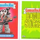 2013 GARBAGE PAIL KIDS BRAND NEW SERIES3 (BNS3) BONUS STICKER-OBSCENE GENE- B23a
