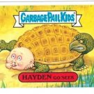 "2004 GARBAGE PAIL KIDS ALL NEW SERIES 2 {ANS2} ""HAYDEN GO SEEK"" #35a STICKER"