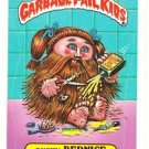 "1986 GARBAGE PAIL KIDS ORIGINAL 4TH SERIES ""BUSHY BERNICE"" #150b STICKER CARD"