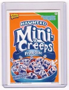 """2012 CEREAL KILLERS 1ST SERIES """"MINI-CREEPS"""" #40 STICKER-ONLY 99 CENTS"""