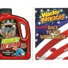 """2017 WACKY PACKAGES/GARBAGE PAIL KIDS DISG-RACE """"SWAMP DRAINO"""" #142 LIMITED ED."""