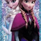 PANINI DISNEY FROZEN STICKER **ELSA & ANNA** #E12 SHINY FOIL!  HARD TO FIND!