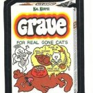 "TOPPS WACKY PACKAGES 1986 SERIES ALBUM STICKER ""GRAVE"" #77 ONLY 99 CENTS"