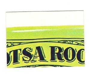 1975 WACKY PACKAGES ORIGINAL 14th SERIES PUZZLE PIECE W/CHECKLIST TM