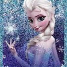 PANINI DISNEY FROZEN STICKER #E2 SHINY!  HARD TO FIND!