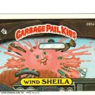 "1987 GARBAGE PAIL KIDS ORIGINAL 7TH SERIES ""WIND SHEILA"" #285a STICKER CARD"