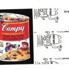 "2017 Wacky Packages 50th Anniversary BLACK LUDLOW ""CAMPY SOUP"" 24/99"