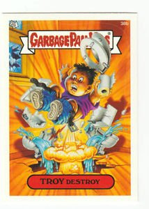 "2003 GARBAGE PAIL KIDS ALL NEW SERIES 1 {ANS1} ""TROY DESTROY"" #38b STICKER CARD"