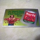 "2014 WACKY PACKAGES CHROME SERIES 1 ""HURTS"" WACKY ADS #11 CARD"