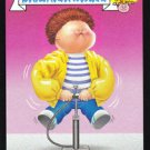 "2015 GARBAGE PAIL KIDS 30th ANNIVERSARY ""CHEEKY CHARLES"" BLACK BORDER CARD #1b"