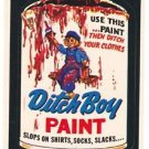 "1974 WACKY PACKAGES WONDER BREAD 2nd SERIES ""DITCH BOY PAINT"" STICKER NM"