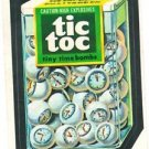 "1974 WACKY PACKAGES ORIGINAL 10TH SERIES ""TIC TOC"" STICKER CARD"
