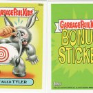 2013 GARBAGE PAIL KIDS BRAND NEW SERIES3 (BNS3) BONUS STICKER-TAILED TYLER- B24a