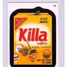 "2015 WACKY PACKAGES SERIES 1 ""KILLA WAFERS"" #16 STICKER! NM"