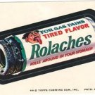 "1974 WACKY PACKAGES ORIGINAL 8TH SERIES ""ROLACHES"" STICKER"
