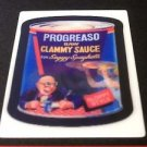 """2008 WACKY PACKAGES FLASHBACK SERIES 1 {FB1} """"PROGREASO"""" MOTION CARD #6"""