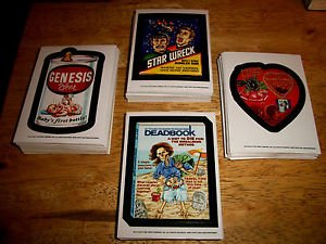 2014 WACKY PACKAGES OLD SCHOOL SERIES 5 MIXED LOT OF THIRTY STICKERS.