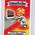 "2016 GARBAGE PAIL KIDS disg-RACE ""HACKIN'HILLARY"" #34 LIMITED EDITION"