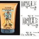 """2017 Wacky Packages 50th Anniversary BLACK LUDLOW """"LARA'S TOMB RADIANCE"""" 79/99"""