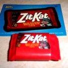 "WACKY PACKAGES ERASER SERIES 1 ""ZIT KAT"" ERASER & MATCHING STICKER #20"