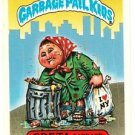 "1986 GARBAGE PAIL KIDS ORIGINAL 4TH SERIES ""GRETA GARBAGE"" #141b STICKER CARD"