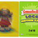 2013 GARBAGE PAIL KIDS BRAND NEW SERIES3 (BNS3) LOCO MOTION CARD #2