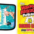 "2012 WACKY PACKAGES POSTCARDS SERIES8 """"PAMPERED"""" BONUS CARD #TS14"