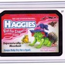 "2011 WACKY PACKAGES ALL NEW SERIES 8 {ANS8} ""HAGGIES"" #37 STICKER"