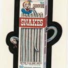 "WACKY PACKAGES 1991 SERIES ""SNAKES"" #6 STICKER CARD"