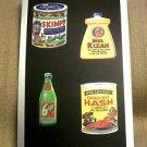 """2014 WACKY PACKAGES CHROME SERIES 1 """"WACKY ADS"""" #36 CARD"""