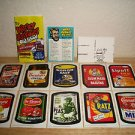 2011 Wacky Packages Old School Series3 Complete 1967 LUDLOW Set,Checklist & MORE