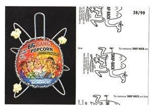 "2017 Wacky Packages 50th Anniversary BLACK LUDLOW ""BIG BANG POPCORN"" 38/99"
