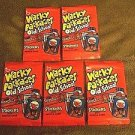 "2010 WACKY PACKAGES OLD SCHOOL SERIES 1 {OS1) LOT OF ""FIVE NEW PACKS"" NICE PRICE"