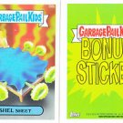 "2015 GARBAGE PAIL KIDS SERIES 1  ""SHEL SHEET"" B8b BONUS STICKER"