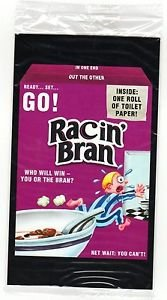 "2017 Wacky Packages 50th Anniversary OVERSIZE ART CARD ""RACIN'BRAN"" #3"