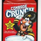 "2017 Wacky Packages 50th Anniversary OVERSIZE ART CARD ""COMRADE CRUNCH"" #1"